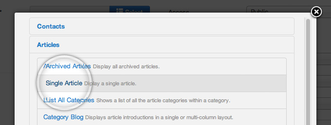 select-the-Articles-category