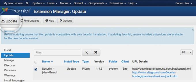 How to Update Joomla Extensions