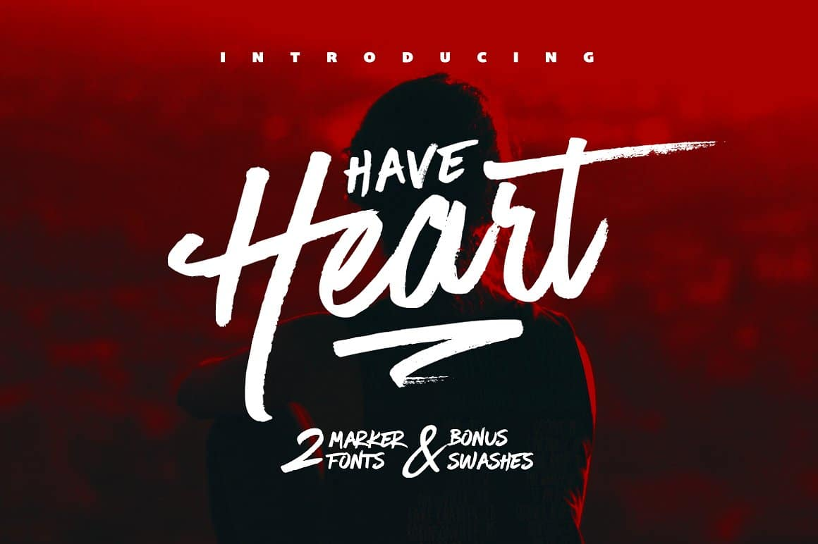 Have Heart Script Free Font Download (Only Paid version
