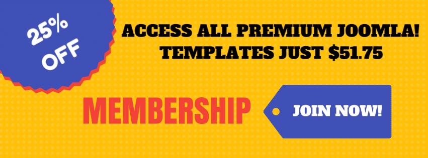 Premium Joomla membership
