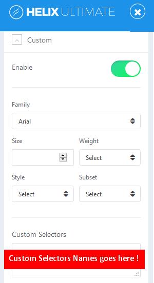 custom_selectors