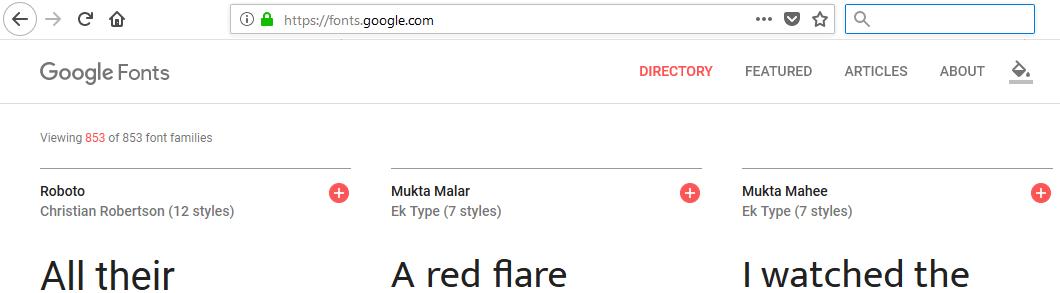 google-fonts-general