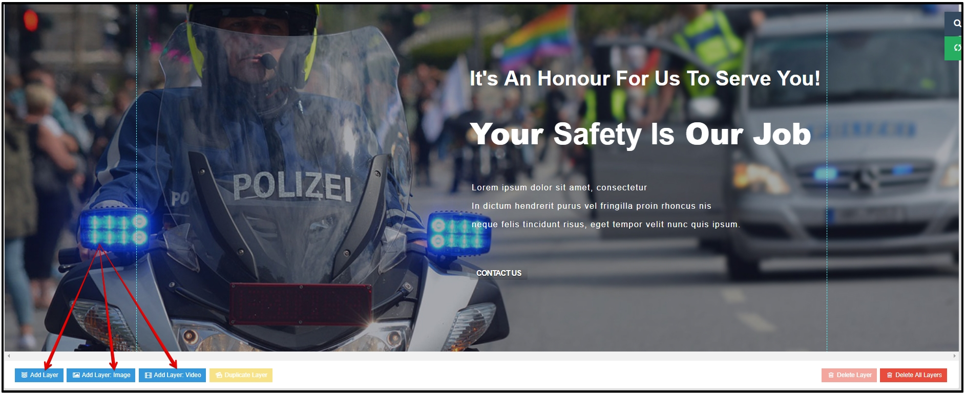 AT Police Premium Joomla Template Document - Age Themes