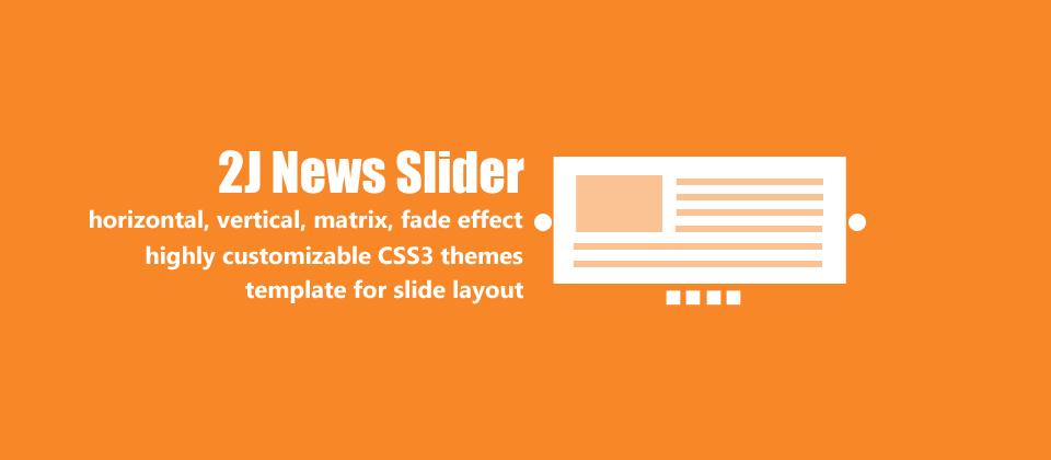 2J News Slider Joomla Article Display Module