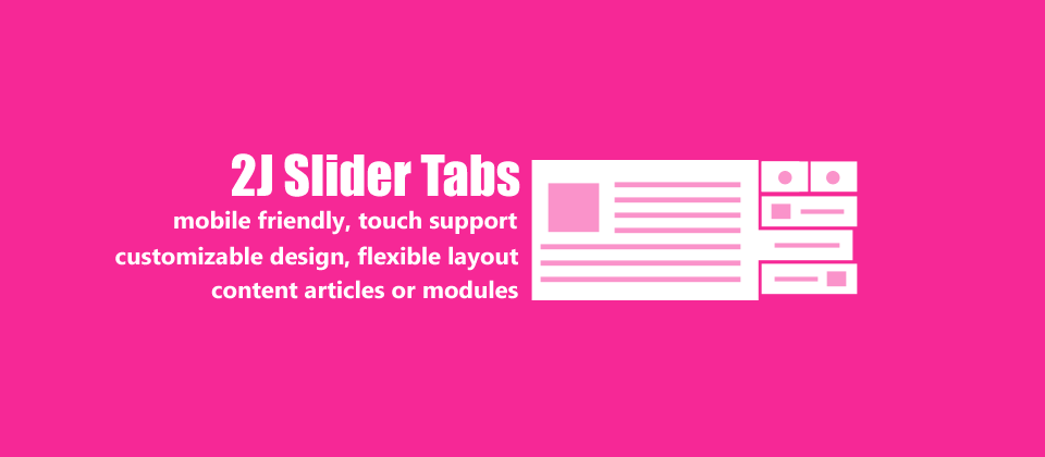 2J SliderTabs Joomla Article Display Module