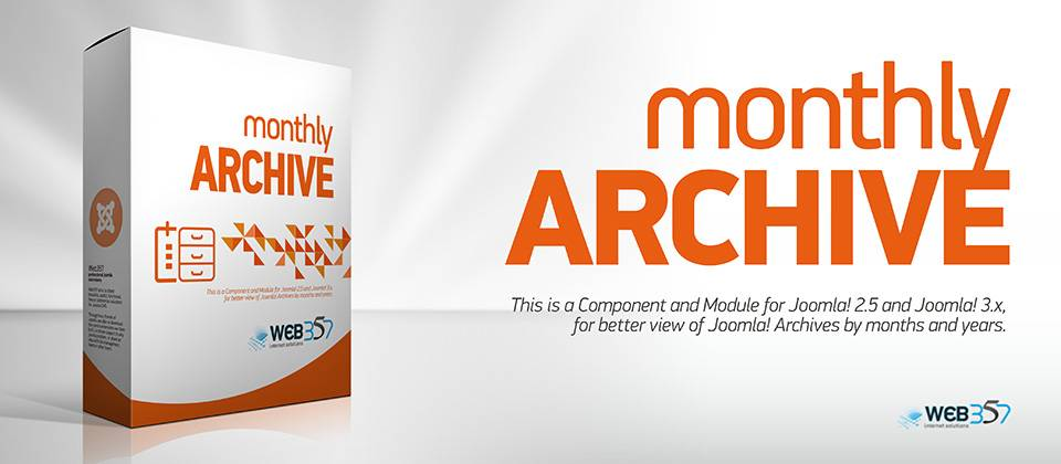 Monthly Archive Joomla Article Display Module