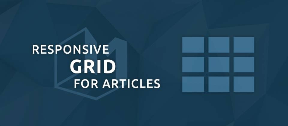 Responsive Grid for Articles Joomla Article Display Module