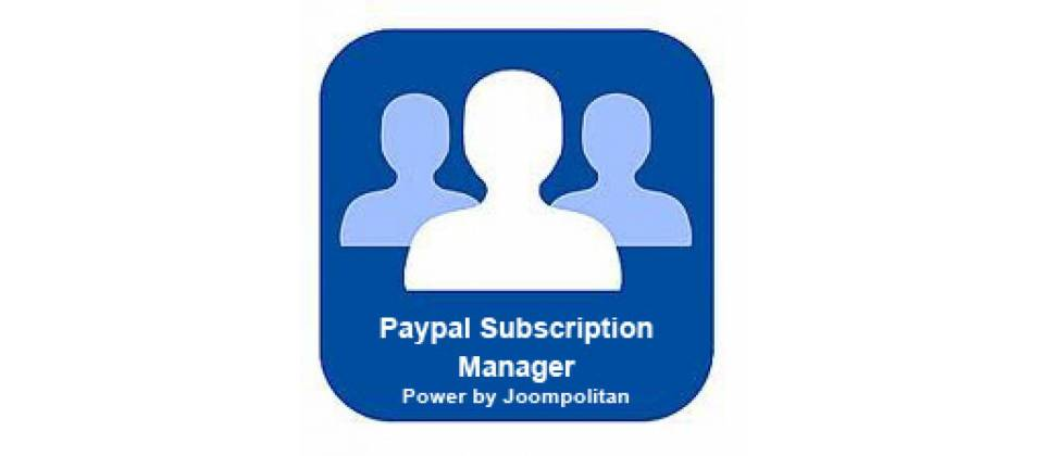 Subscription Manager best joomla membership extension
