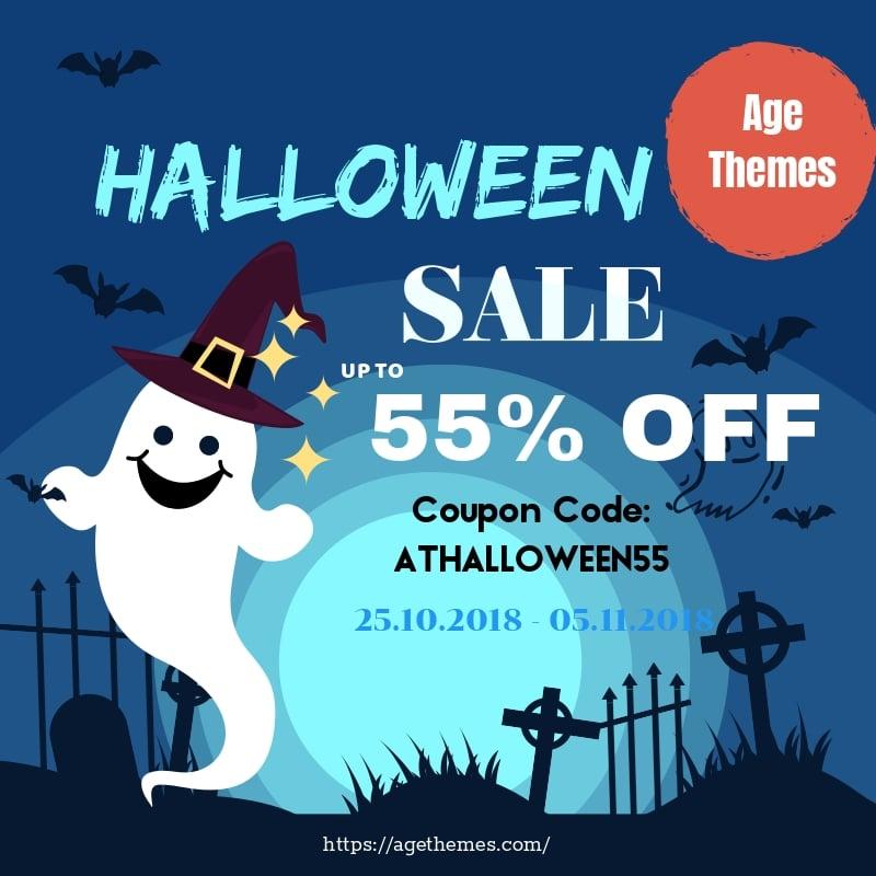 Top Halloween Deals from the best Joomla and WordPress theme providers!