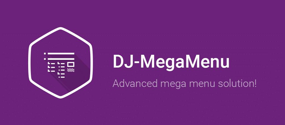 DJ-MegaMenu joomla menu system