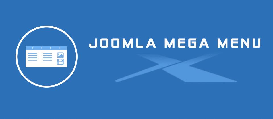 JUX Mega Menu joomla menu system extension