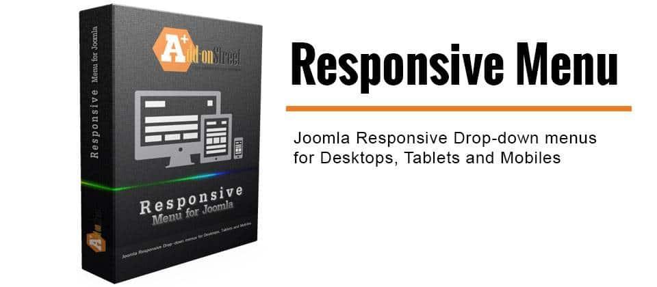 Responsive Menu joomla menu system