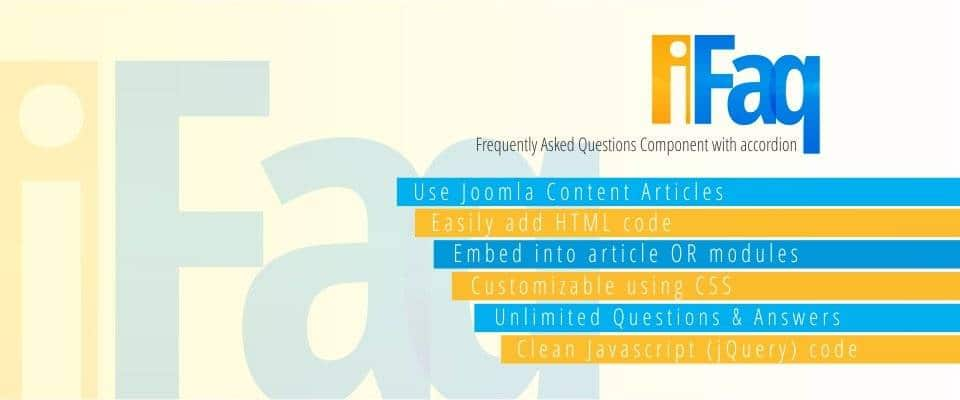 iFAQ joomla FAQ extension