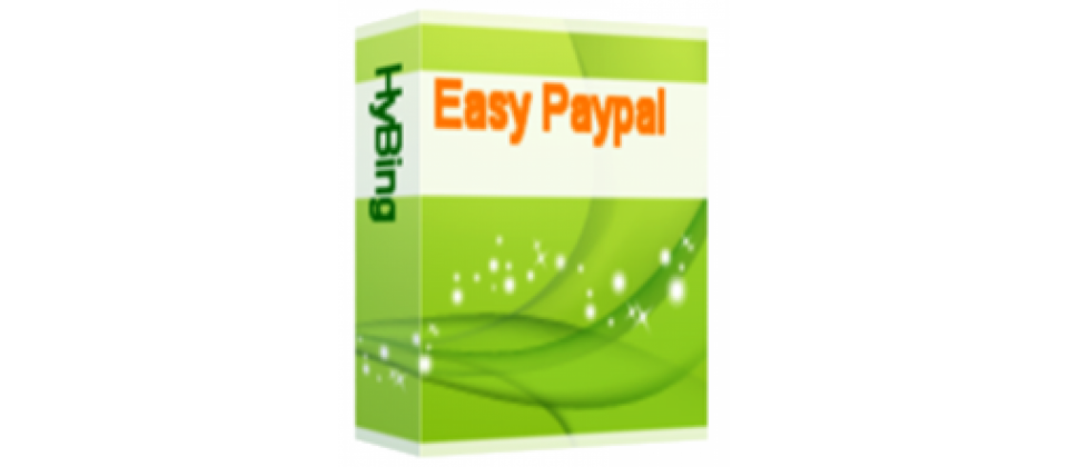 Easy Paypal Joomla payment systems extension