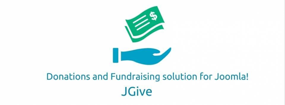 jGive joomla donation extension