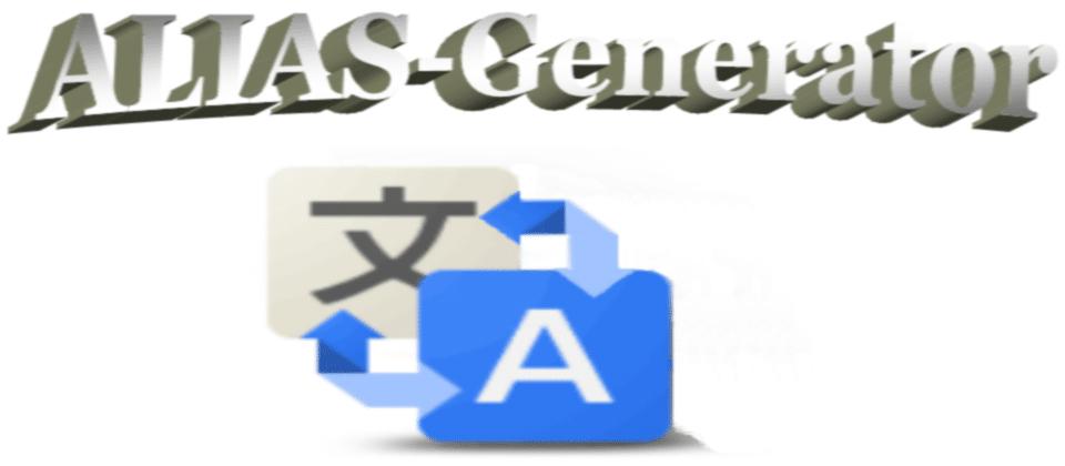 ALIAS-Generator joomla SEF extension