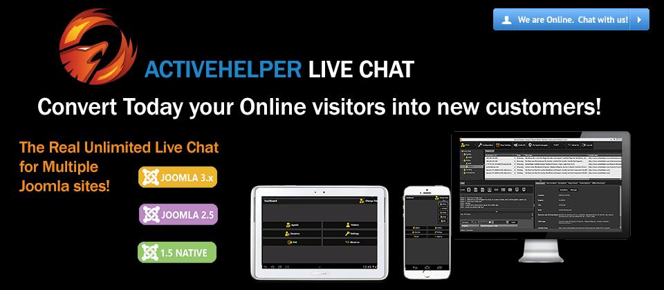 ActiveHelper LiveHelp joomla live support extension