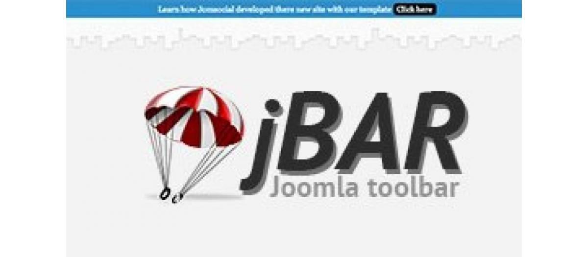 jBar joomla notes extension
