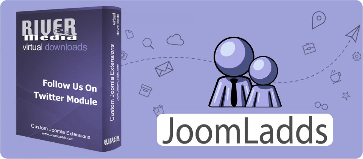 Follow Us On Twitter joomla presence joomla extension