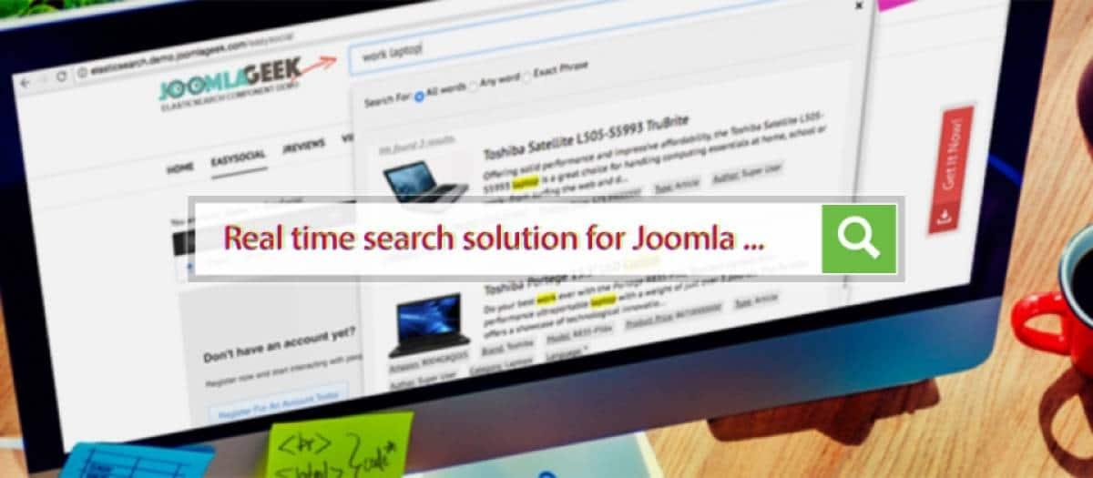Geek Elasticsearch joomla search extension