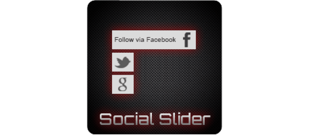 JJ Social Slider social presence joomla extension