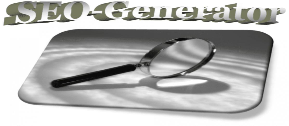 SEO-Generator Joomla SEO extension
