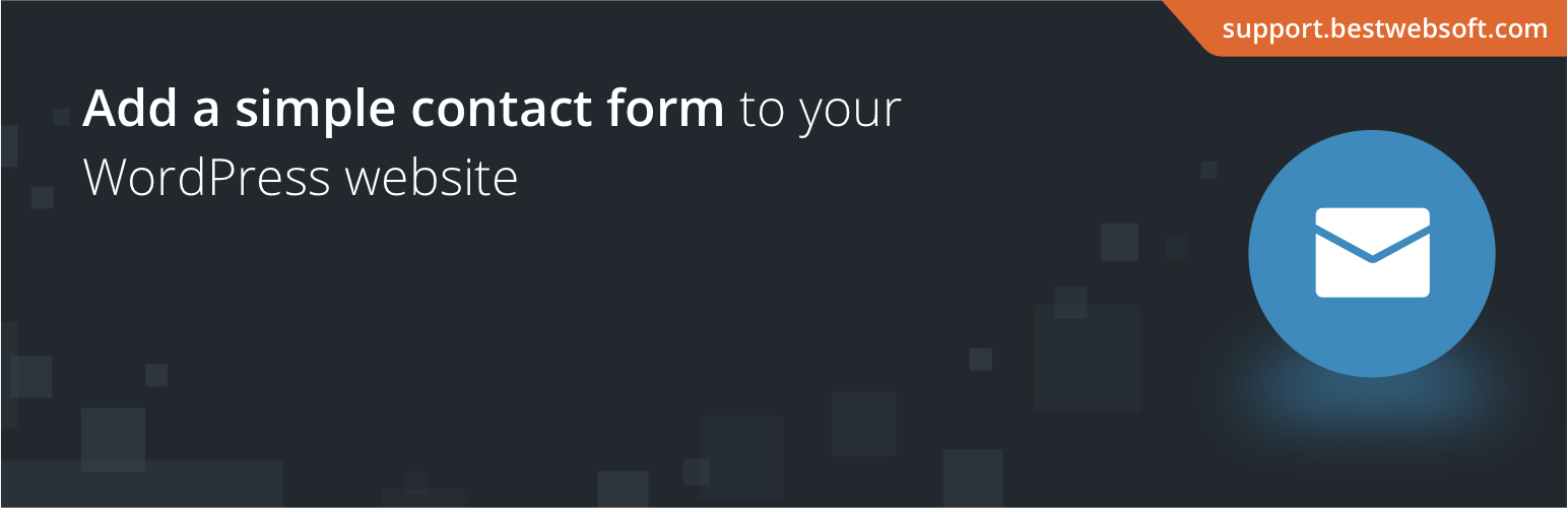 Contact Form by BestWebSoft, a great WordPress Contact Us Plugin
