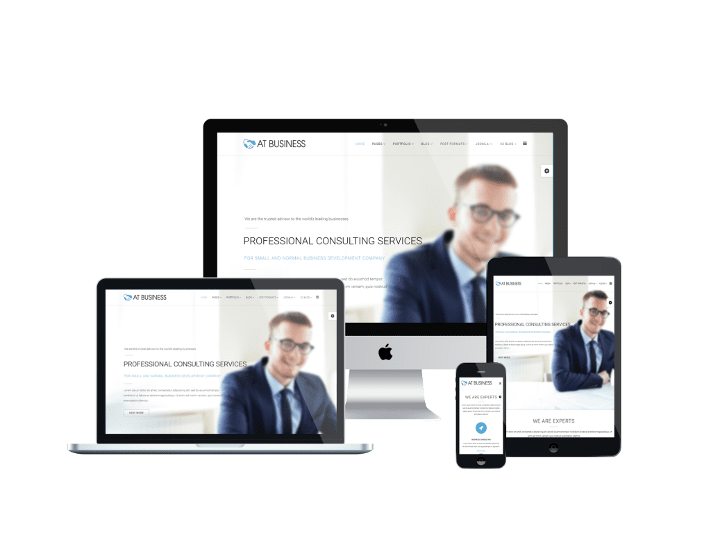 AT Business Free Joomla! template