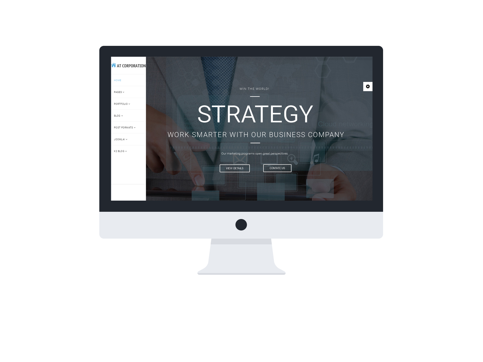 at-corpoation-company-template