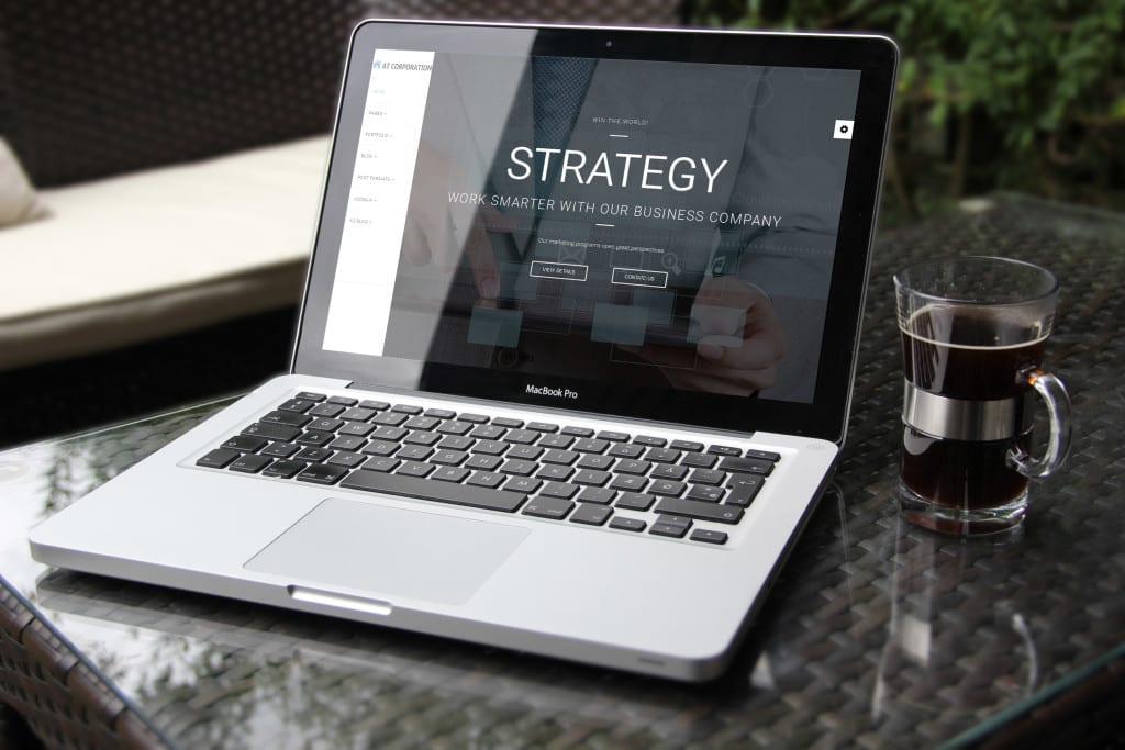 AT Corporation Joomla! template