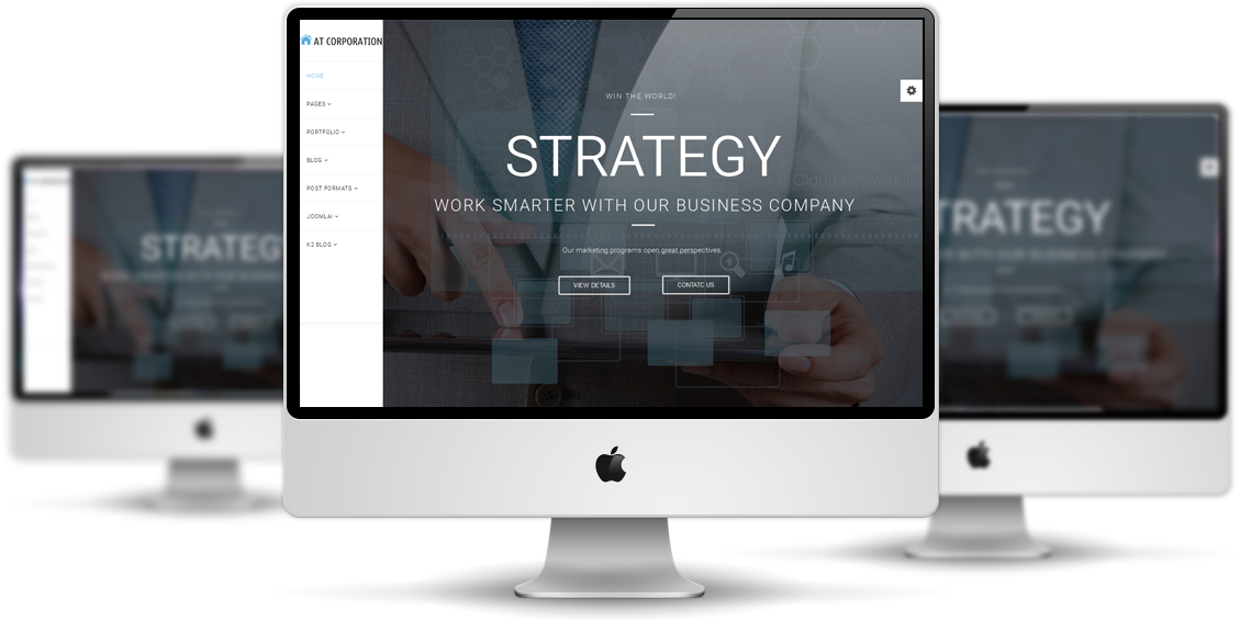 at-corporation-template-features
