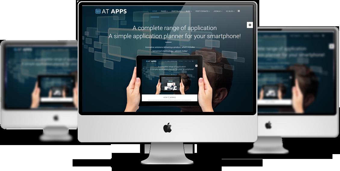 Apps Joomla template View