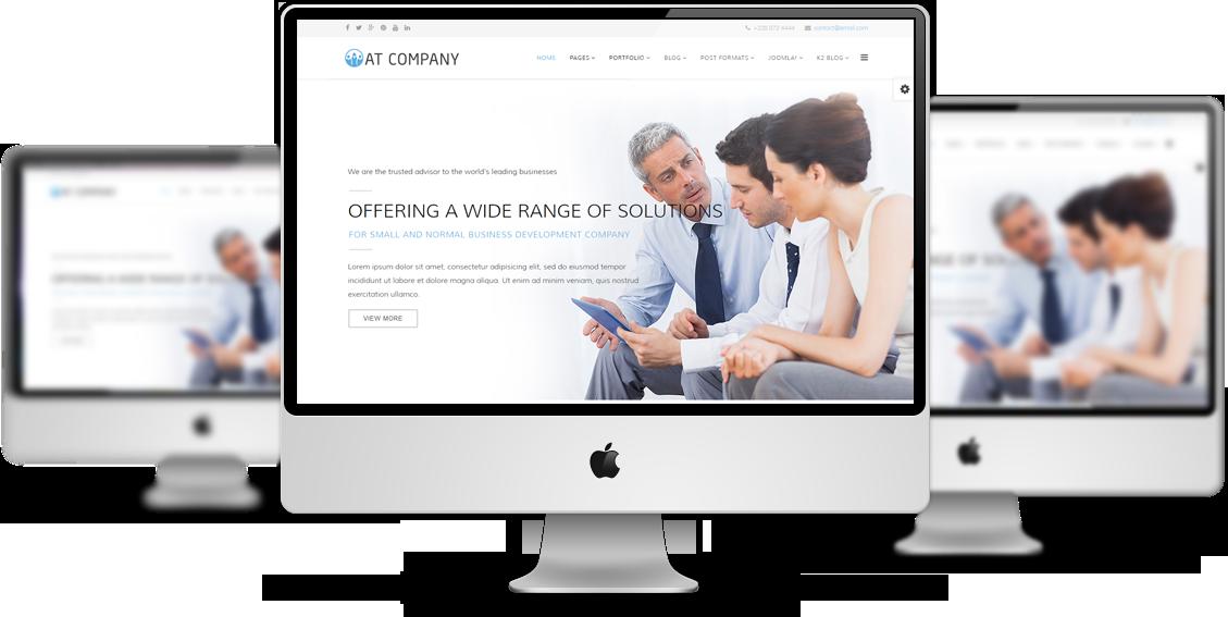Company Joomla template Preview