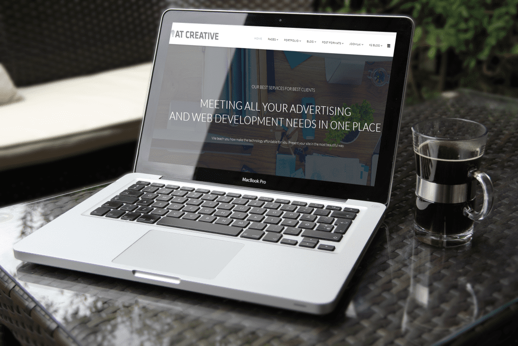 Creative Joomla template Preview