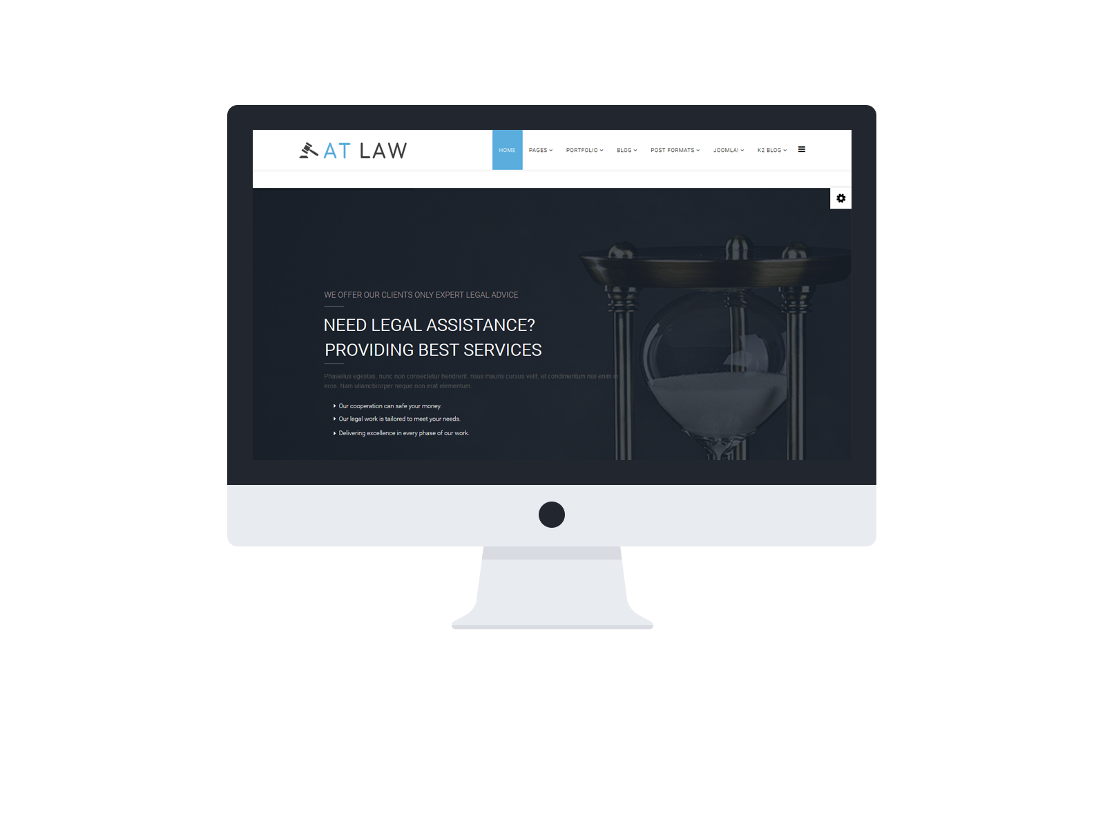 Law Joomla! template Preview