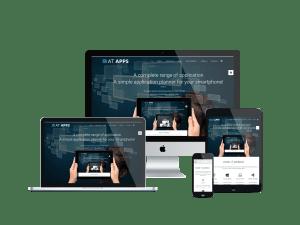 Responsive Apps Joomla template