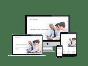 Responsive Company Onepage Joomla template