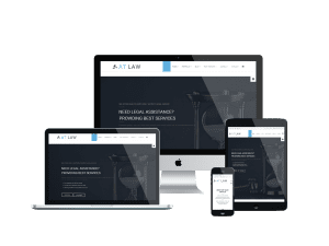 Responsive Law Onepage Joomla! template