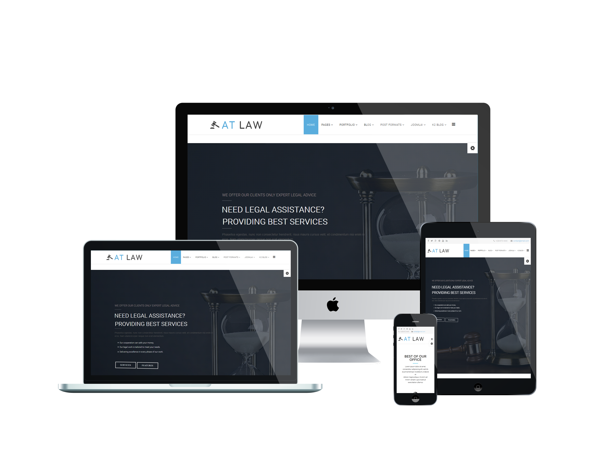 at law free attorneys group law joomla template age themes