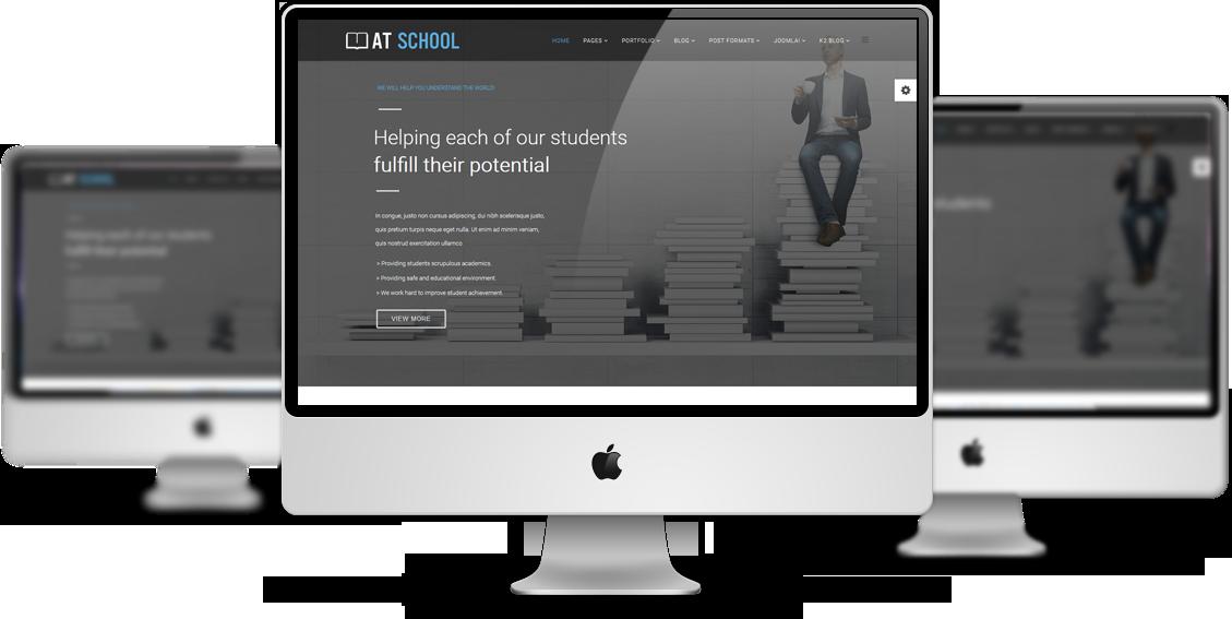 School Joomla template Preview