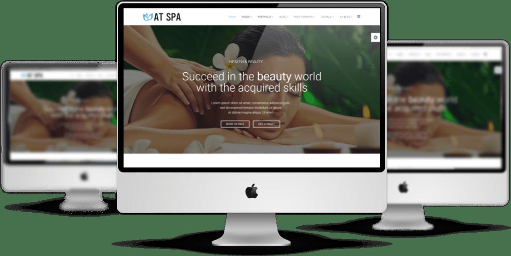 Spa desktop display
