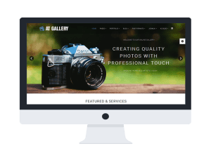 AT Gallery Joomla template Main
