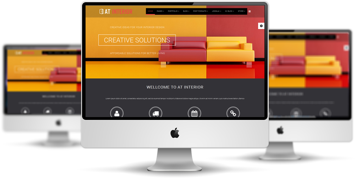 AT Interior Joomla! template Preview