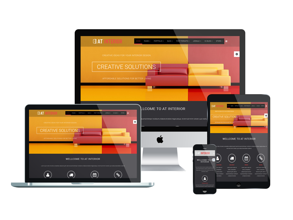 At interior free furniture interior joomla template for Jooma templates