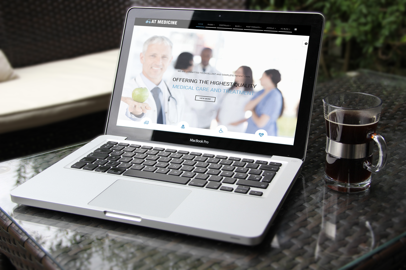 AT Medical Joomla! template