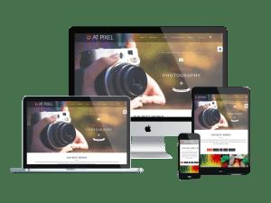 AT Pixel Onepage Responsive Joomla template