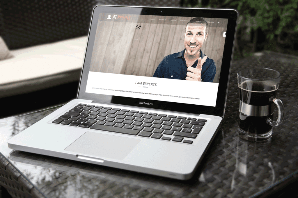AT Profile Joomla template Preview