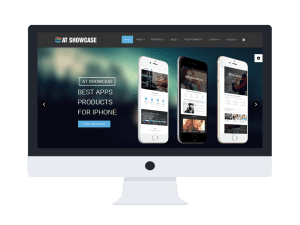 AT Showcase Joomla template Main