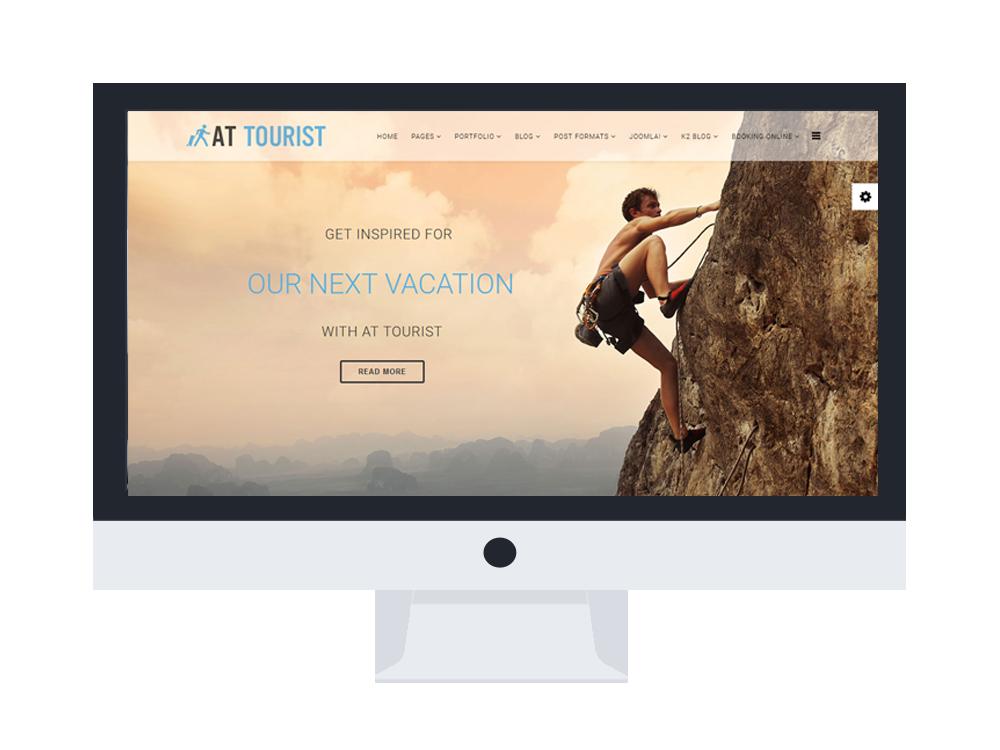 AT Tourist Joomla! template Desktop