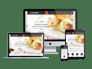 LT Restaurant Joomla! template